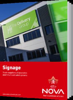 Aluminium Signage Systems Brochure